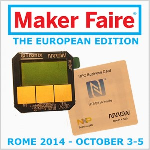 Maker Fair - ROME 2014 October 3-5